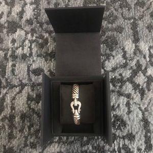 David Yurman Jewelry - David Yurman Diamond 10mm Buckle Bracelet